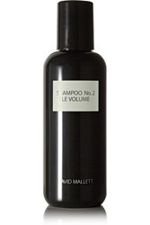 David Mallett Shampoo No.2 Le Volume 250Ml