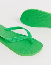 Havaianas Top Flip Flops In Green