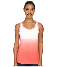 Woolrich Huckleberry Hills Dip Dye Tank Hot Guava Women's Sleeveless Red