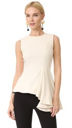 Haney Claire Sleeveless Blouse Ivory