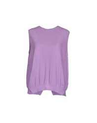 Amy Gee Sweaters Lilac