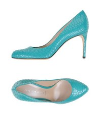 Casadei Footwear Courts Women Turquoise