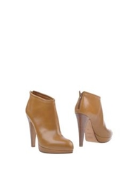 Michel Perry Shoe Boots Khaki