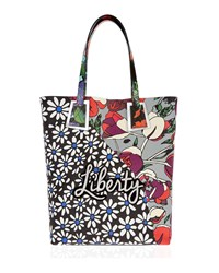 Liberty London Rq Daisy Tulip Merton Tote Bag Multi Pattern