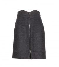 Isabel Marant Faby Wool And Cashmere Blend Skirt Black