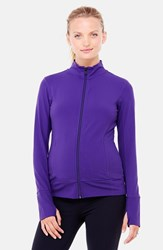Women's Ingrid And Isabel Active Maternity Jacket Royal Purple