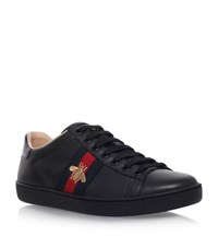 Gucci Ace Bee Sneakers Female Black