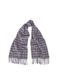 Aquascutum London Cc Lambswool Scarf Tan