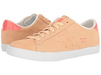 Onitsuka Tiger By Asics Lawnship Bleached Apricot Peach Women's Shoes Orange