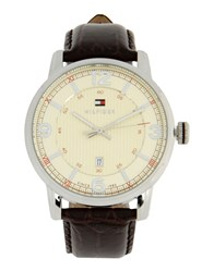Tommy Hilfiger Timepieces Wrist Watches Men Beige