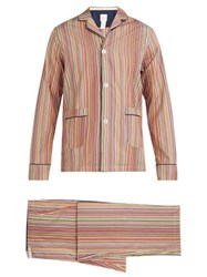 Paul Smith Signature Striped Cotton Pyjama Set Multi