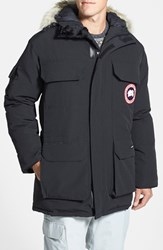 Men's Canada Goose 'Expedition' Relaxed Fit Down Parka Black