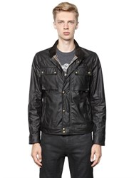 Belstaff Racemaster Waxed Cotton Biker Jacket