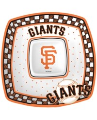 Memory Company San Francisco Giants Gameday Ceramic Chip And Dip Plate Assorted
