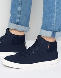 Jack And Jones Dunmore Hi Top Sneakers Navy