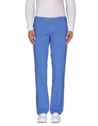 40Weft Trousers Casual Trousers Men Pastel Blue