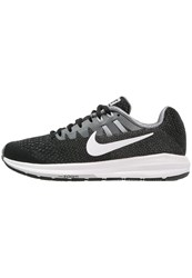 Nike Performance Air Zoom Structure 20 Stabilty Running Shoes Black White Cool Grey Pure Platinum Wolf Grey