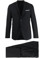 Neil Barrett Slim Fit Two Piece Suit 60