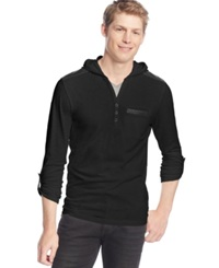 Inc International Concepts Ryan Lightweight Hoodie Only At Macy's Deep Black