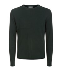 Wooyoungmi Ribbed Knit Jumper Male Forest