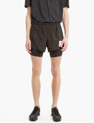 Satisfy Black Short Distance 8 Shorts