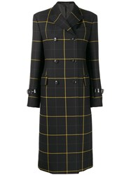 Paul Smith Checked Double Breasted Coat 60