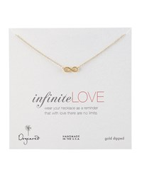 Infinite Love Pendant Infinity Necklace Dogeared Gold
