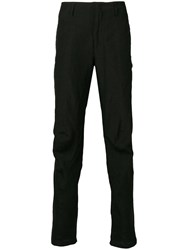 Andrea Ya'aqov Slim Fit Trousers Black