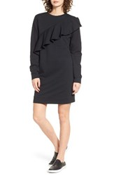 Fire Women's Love Ruffle Sweatshirt Dress