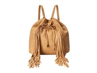 Steve Madden Bteagan Fringe Backpack Camel Backpack Bags Tan