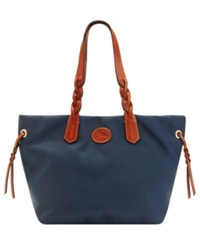 Dooney And Bourke Nylon Shopper Navy
