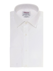 T.M.Lewin Marcella Front Plain Slim Fit Dress Shirt White