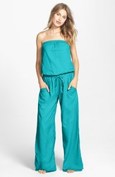 Hard Tail Strapless Shelf Bra Jumpsuit Tide