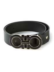Salvatore Ferragamo Gancini Belt Black