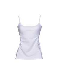 D And G Underwear Sleeveless Undershirts White