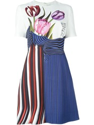 Mary Katrantzou 'Alli' Flared Dress White