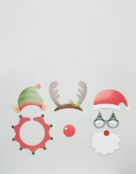 New Look Christmas Dress Up Photo Booth Pack Multi Col