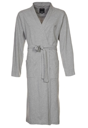 Marc O'polo Dressing Gown Pure Grey Melange