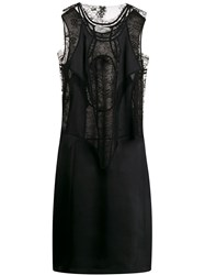 Maison Martin Margiela Lace Panelled Dress Black