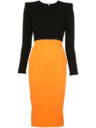 Alex Perry Darley Two Tone Dress 60