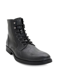 Robert Wayne Donovan High Top Leather Boots