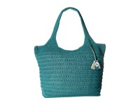 The Sak Palm Springs Extra Large Tote Azure Tote Handbags Blue