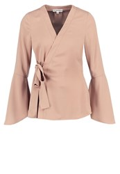 Neon Rose Blouse Taupe Grey