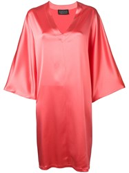 Gianluca Capannolo Loose Fitting Dress Pink