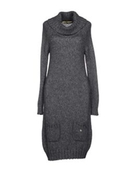 Ottod'ame Knee Length Dresses Grey