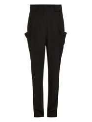 L'agence High Waist Lightweight Twill Trousers
