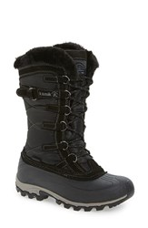 Kamik Women's Snowvalley Waterproof Boot With Faux Fur Cuff