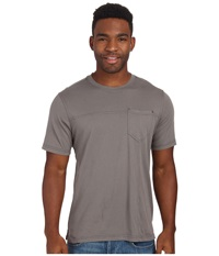 Royal Robbins Organic Jersey S S Crew Pewter Men's Short Sleeve Pullover