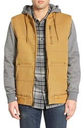 Men's Rvca 'Fieldwork' Hooded Jacket