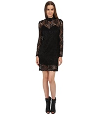 The Kooples Laminated Lace Dress